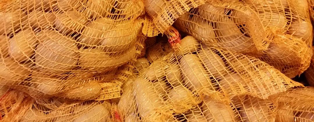 Kartoffeln im Hofladen